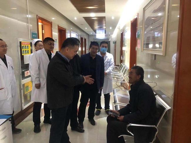 甘肃中医药大学李应东书记到北院指导工作